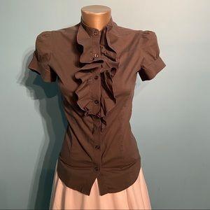 Talula ruffled blouse